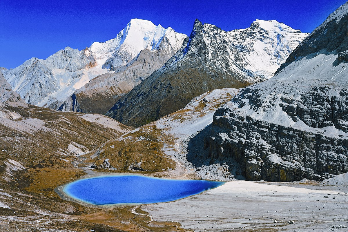 Milk Lake Yading | Photo par Liu Bin