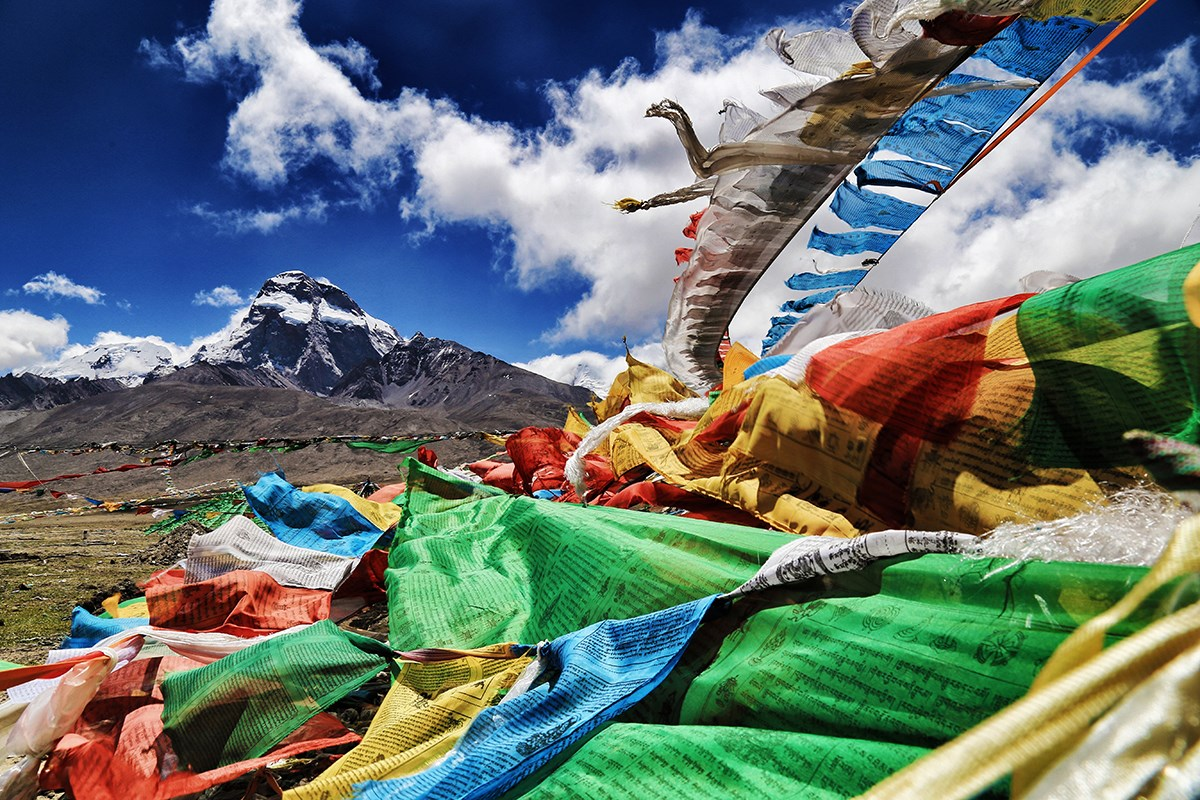 Prayer Flags | Photo par Liu Bin