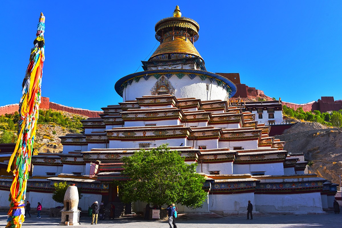 Kumbum Stupa of Palkhor Monastery | Photo par Liu Bin